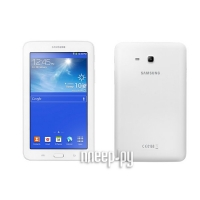 Samsung SM-T110 Galaxy Tab 3 Lite 7.0 - 8Gb Cream-White SM-T110NDWASER (Dual-Core 1.2 GHz/1024Mb/8Gb/Wi-Fi/Bluetooth/GPS/Cam/7.0/1024x600/Android)