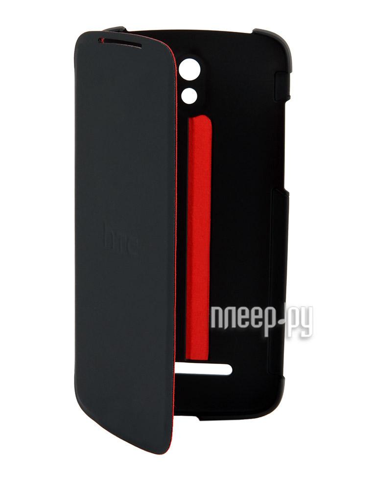 Аксессуар Чехол HTC Desire 500 HC V911 Black-Red  Pleer.ru  491.000