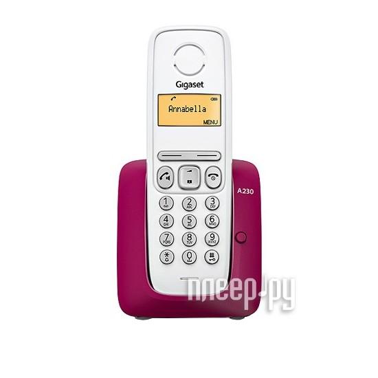 Радиотелефон Gigaset A230  Pleer.ru  706.000