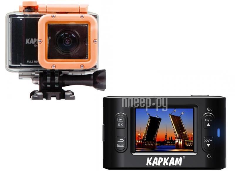 Экшн-камера Каркам CarCam Excam One  Pleer.ru  5630.000