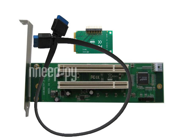 Аксессуар Espada mini PCI-E to 2xPCI 1083METP-2  Pleer.ru  2540.000