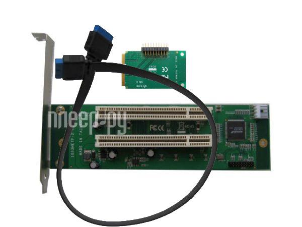 Аксессуар Espada mini PCI-E to 2xPCI 1083METP-2  Pleer.ru  2540.000