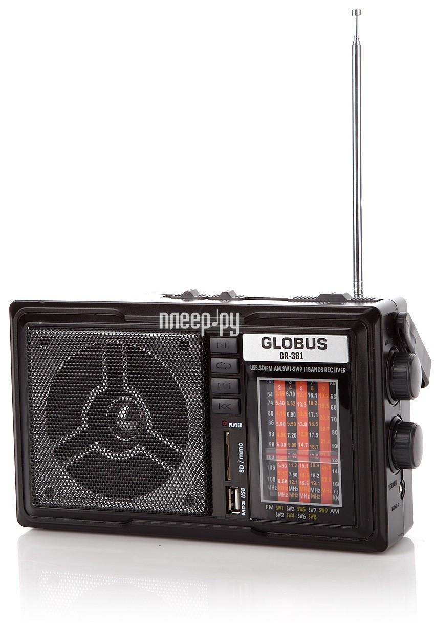 Радиоприемник GlobusFM GR-381