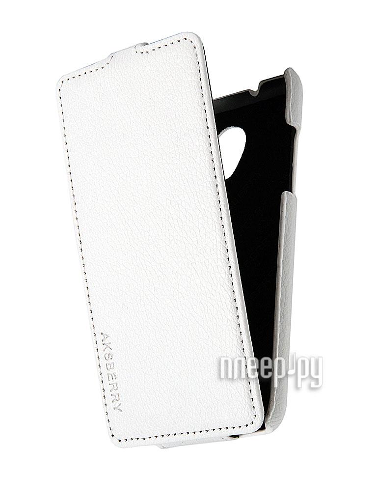 Аксессуар Чехол HTC Desire 700 Aksberry White  Pleer.ru  340.000