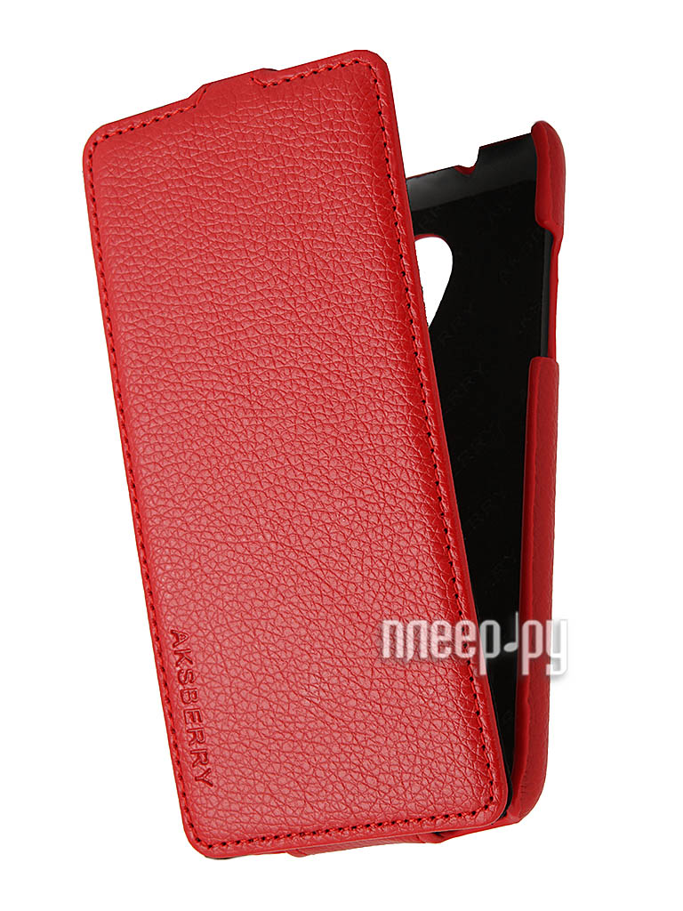 Аксессуар Чехол HTC Desire 700 Aksberry Red  Pleer.ru  1149.000