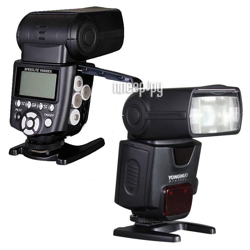 Вспышка YongNuo YN-500EX Speedlite for Canon  Pleer.ru  6208.000