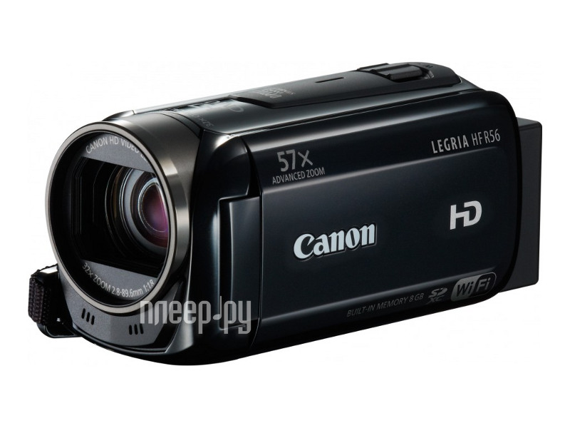 Видеокамера Canon R56 Legria HF Black*  Pleer.ru  11098.000