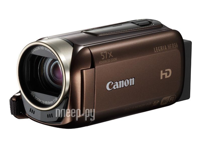 Видеокамера Canon R56 Legria HF Brown*  Pleer.ru  11098.000