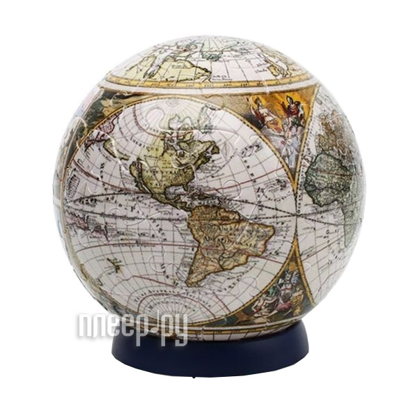 3D-пазл Pintoo Старинная карта Мира 60 деталей 7.6cm A2663  Pleer.ru  155.000
