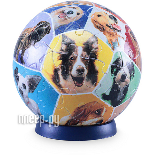 3D-пазл Pintoo Мир собак 540 деталей 23cm A1358  Pleer.ru  579.000