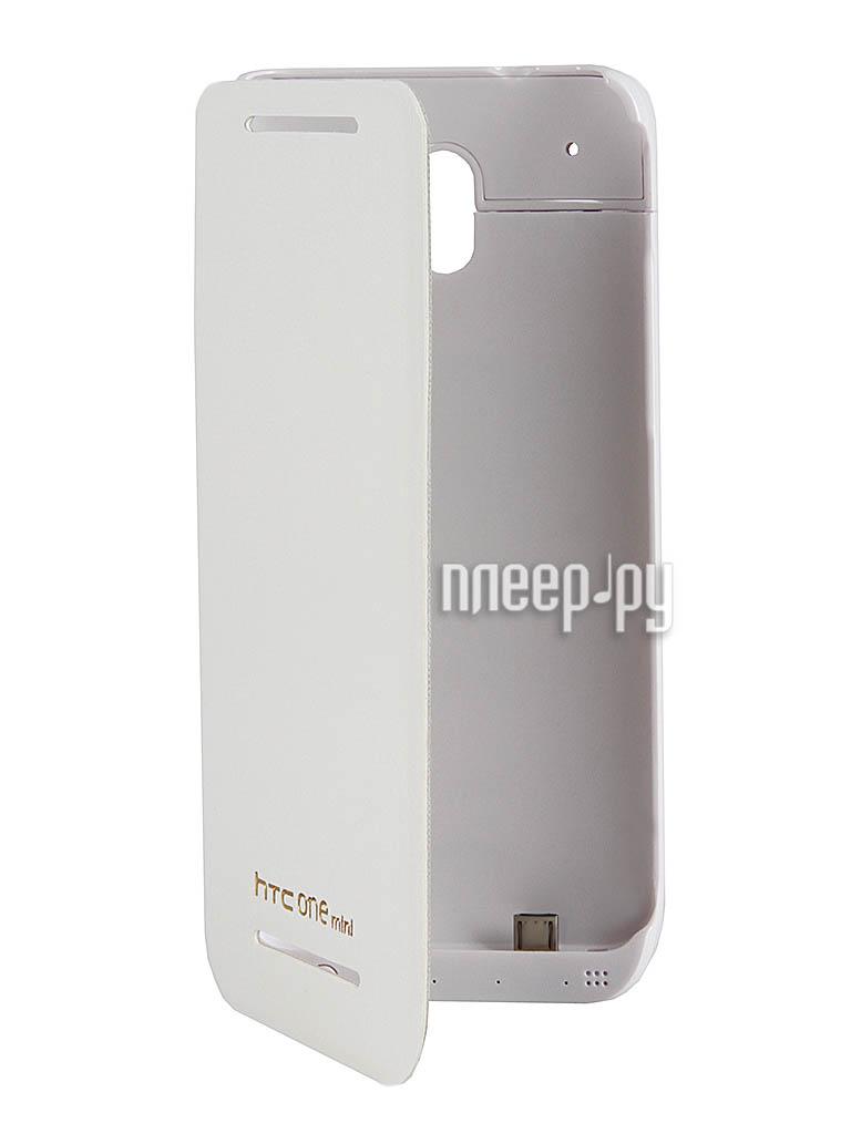 Аксессуар Чехол с аккумулятором HTC One mini Ainy  Pleer.ru  1649.000