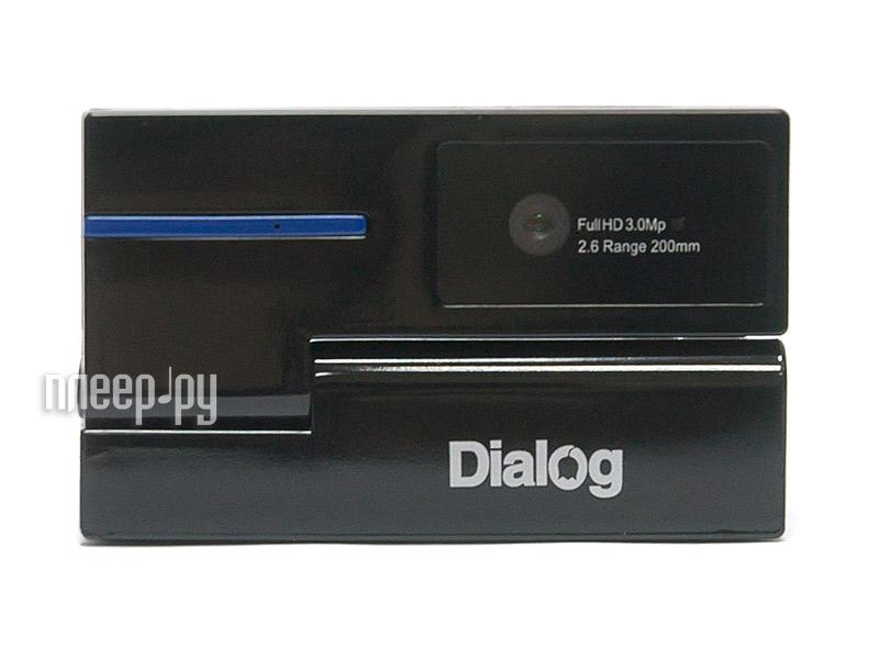 Вебкамера Dialog WC-53U Black-Blue  Pleer.ru  615.000