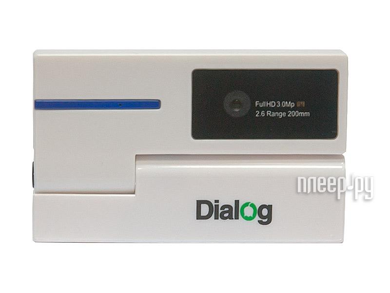 Вебкамера Dialog WC-53U White-Blue  Pleer.ru  615.000