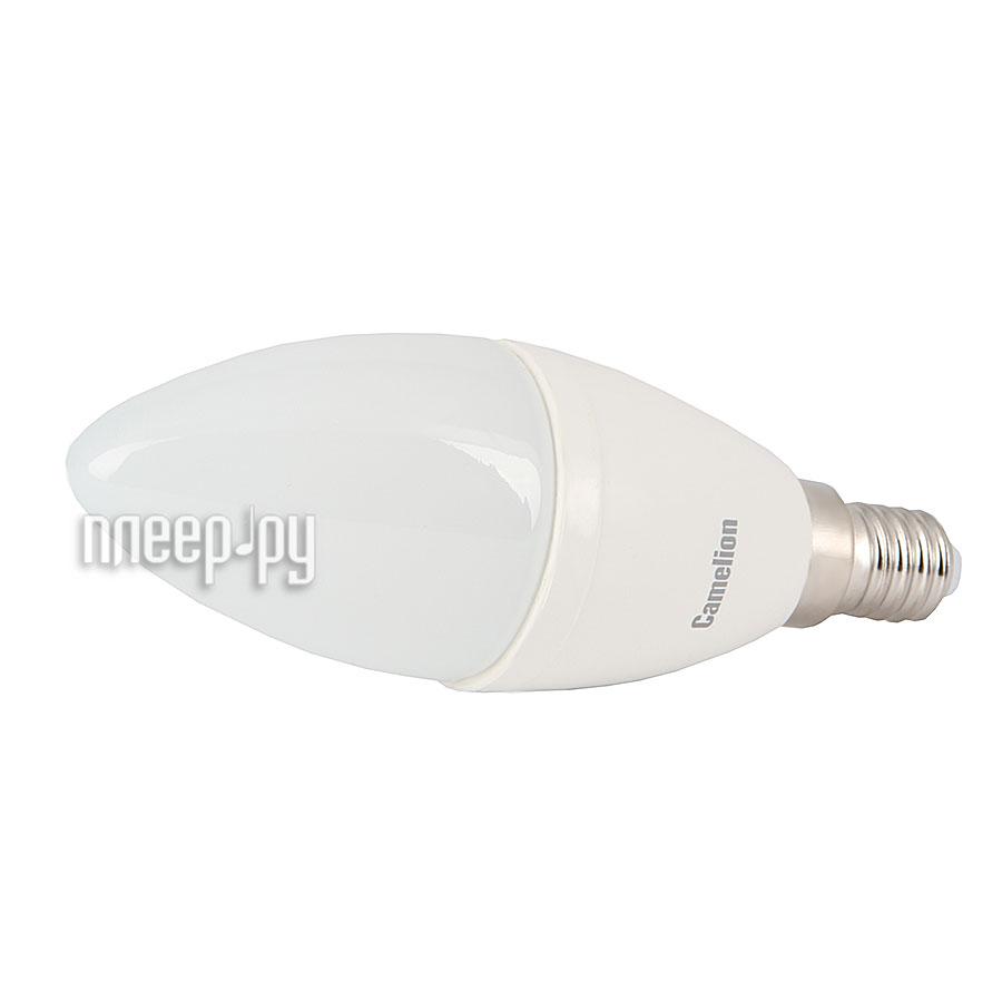Лампочка Camelion CW35 4.5W 220V E14 4500K 415 Lm LED4.5-CW35/845/E14