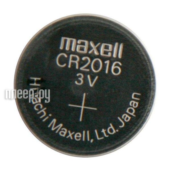 Батарейка CR2016 - Maxell CR2016 3V (1 штука)