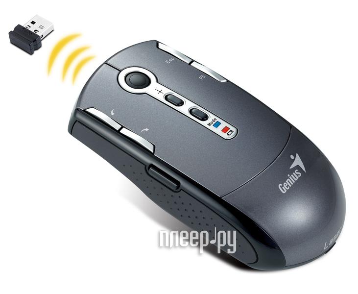 Мышь беспроводная Genius Navigator T835 USB  Pleer.ru  1018.000