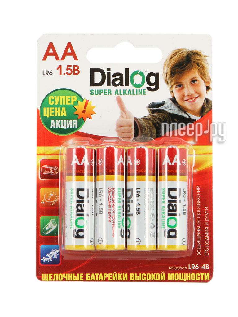 AA - Dialog LR6-4B (4 штуки)  Pleer.ru  76.000