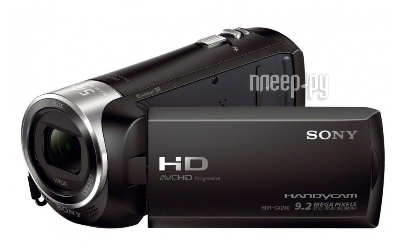 Видеокамера Sony HDR-CX240E  Pleer.ru  7397.000