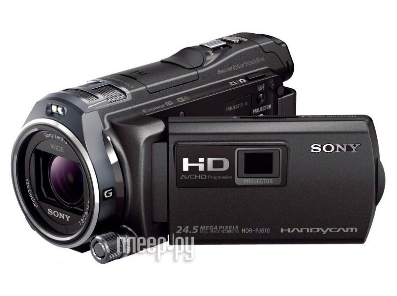 Видеокамера Sony HDR-PJ810E  Pleer.ru  31197.000