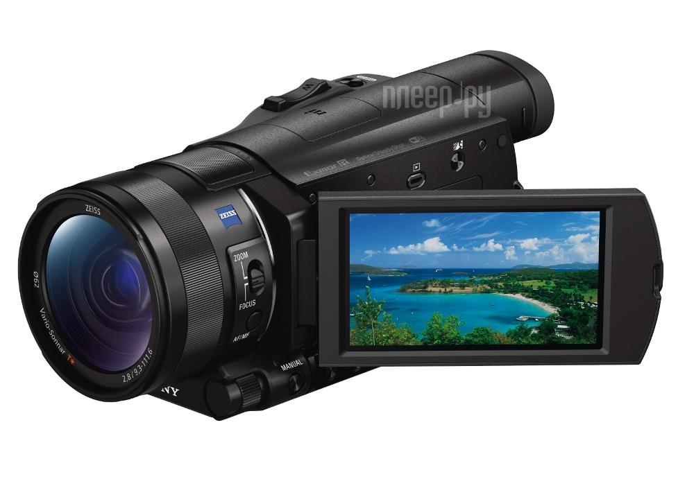 Видеокамера Sony FDR-AX100E  Pleer.ru  65555.000