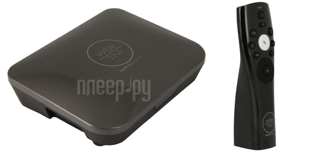 Мини ПК Wise TiVi Box + Air Mouse WT002GM Grey  Pleer.ru  5049.000