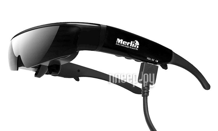 Видео-очки MerliniTheatreVR3D  Pleer.ru  20587.000