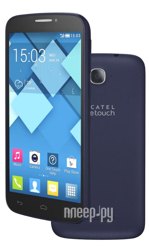 Alcatel onetouch 7041d pop c7 bluish black