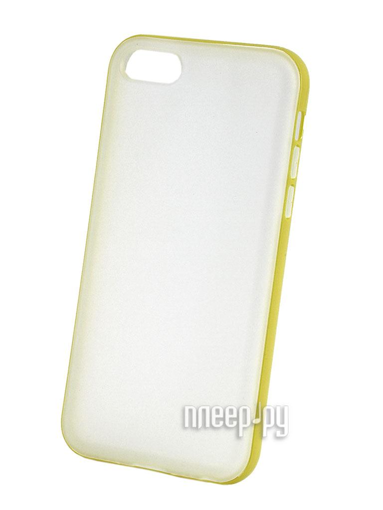 Аксессуар Защитная крышка Ice Mile for iPhone 5C ST5CB-001Y Yellow  Pleer.ru  192.000