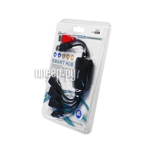 Хаб USB Porto HB-1004  Pleer.ru  539.000