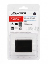 Аккумулятор DigiCare PLC-BP828 (аналог Canon BP-828 / BP-820)