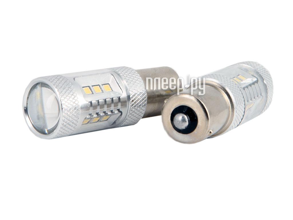 Светодиодная лампа Glare of Light 1156 (P21W) 15W Samsung 1609 (2 штуки)  Pleer.ru  900.000