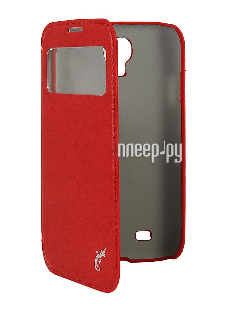 Аксессуар Чехол Samsung GT-i9500 Galaxy S4 G-Case Slim Premium Red GG-254  Pleer.ru  1269.000