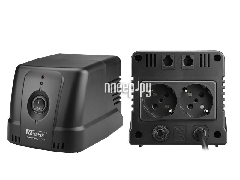 Стабилизатор Mustek PowerMate 1260 AVR  Pleer.ru  760.000