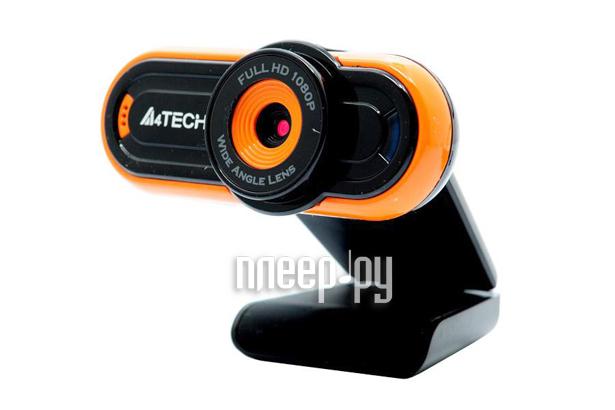 Вебкамера A4Tech PK-920H-2 Black-Orange 711252  Pleer.ru  684.000