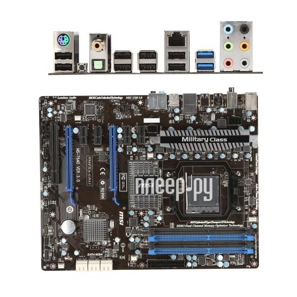Материнская плата MSI 990FXA-GD65  Pleer.ru  4605.000