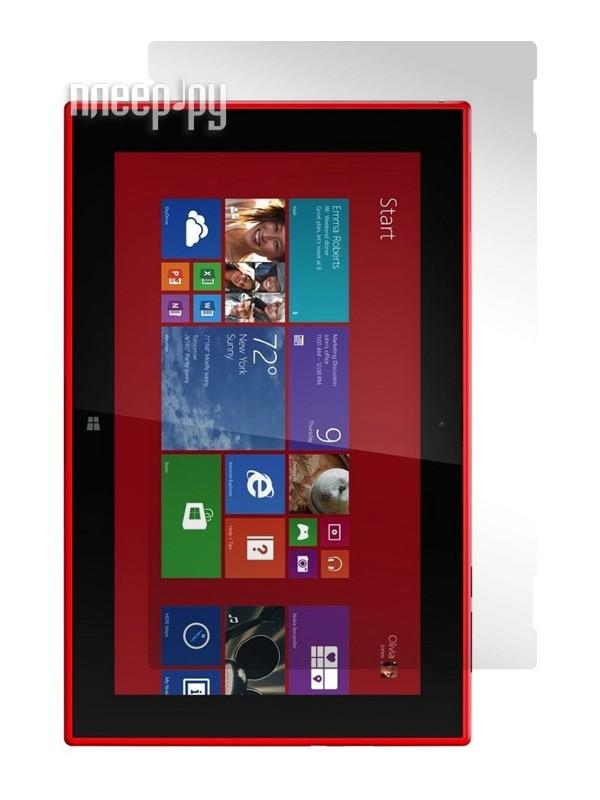 Аксессуар Защитная пленка Nokia Lumia 2520 LuxCase суперпрозрачная 80981  Pleer.ru  619.000