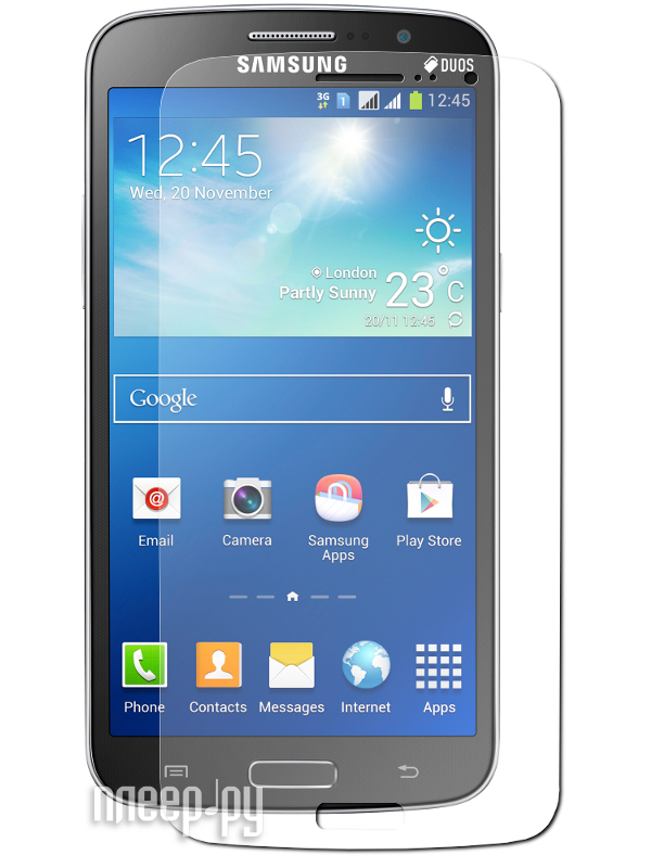 Аксессуар Защитная пленка Samsung SM-G7102 Galaxy Grand 2 LuxCase суперпрозрачная 80821  Pleer.ru  554.000