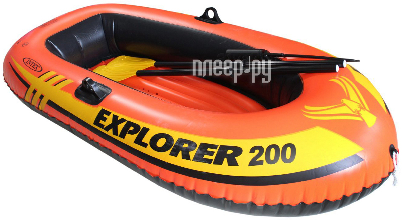 лодка надувная эксплорер 200