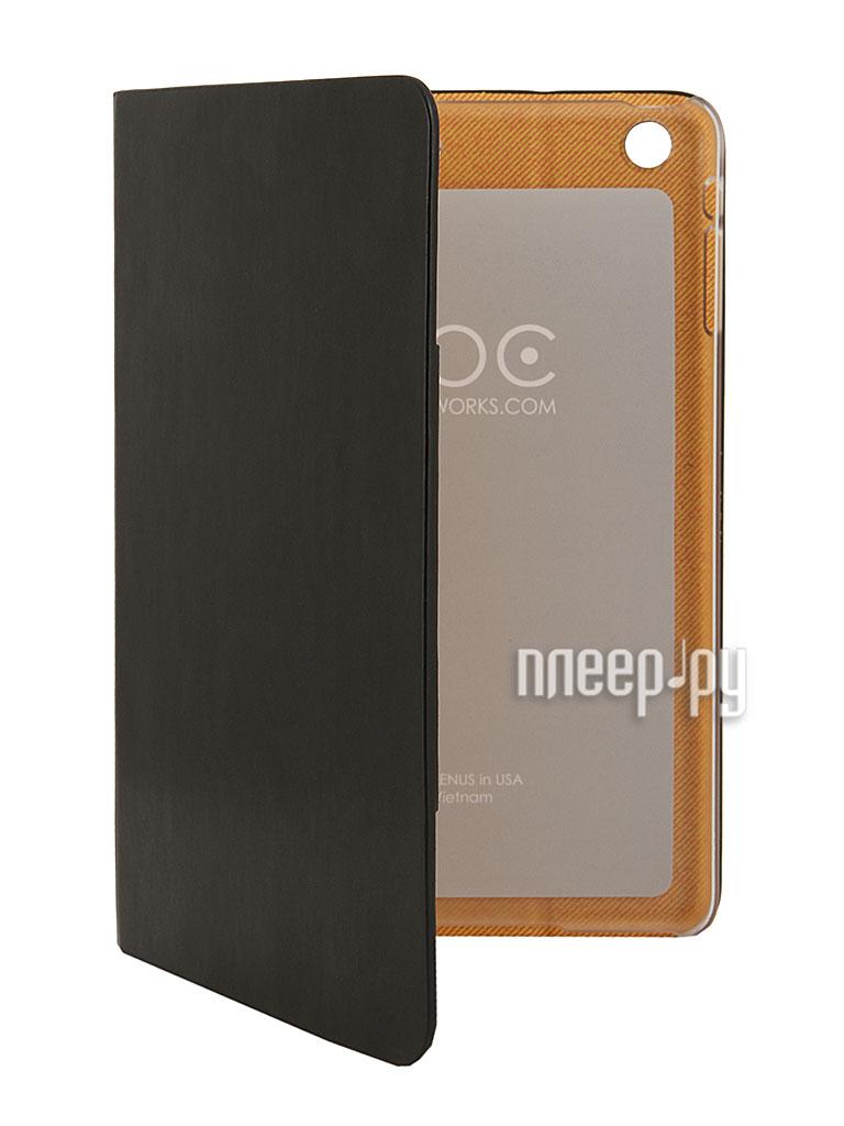 Аксессуар Чехол Zenus Masstige Lettering Diary for iPad mini Retina Black  Pleer.ru  1900.000