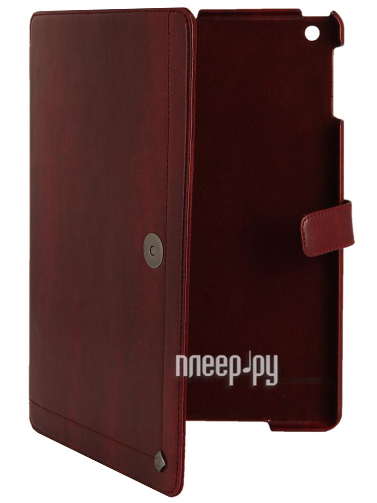 Аксессуар Чехол Zenus Avoc Toscana Diary for iPad Air Wine  Pleer.ru  701.000