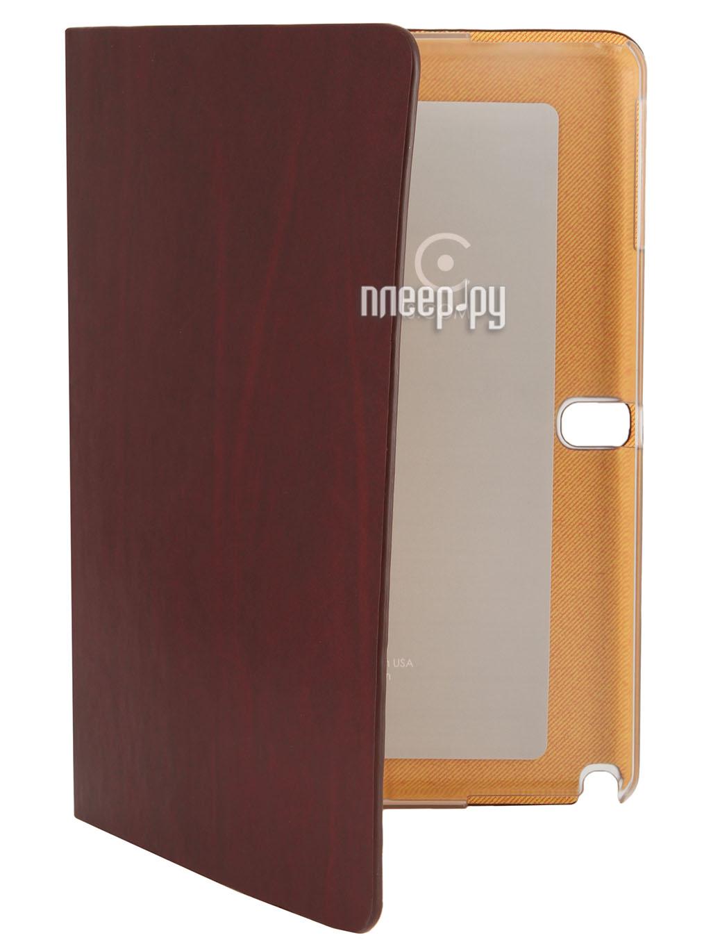Аксессуар Чехол Samsung Galaxy Note 10.1 2014 Edition Zenus Avoc Toscana Diary Wine  Pleer.ru  1200.000