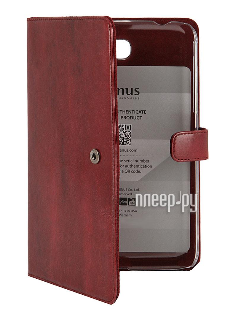 Аксессуар Чехол Samsung SM-T2100/T2110 Galaxy Tab 3 7.0 Zenus Masstige Modern Classic Diary Wine Red  Pleer.ru  1400.000