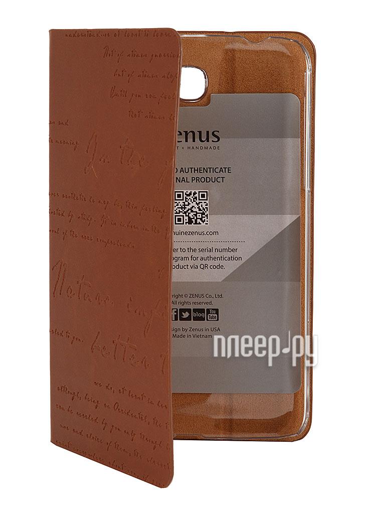 Аксессуар Чехол Samsung SM-T2100/T2110 Galaxy Tab 3 7.0 Zenus Masstige Lettering Diary Brown  Pleer.ru  790.000