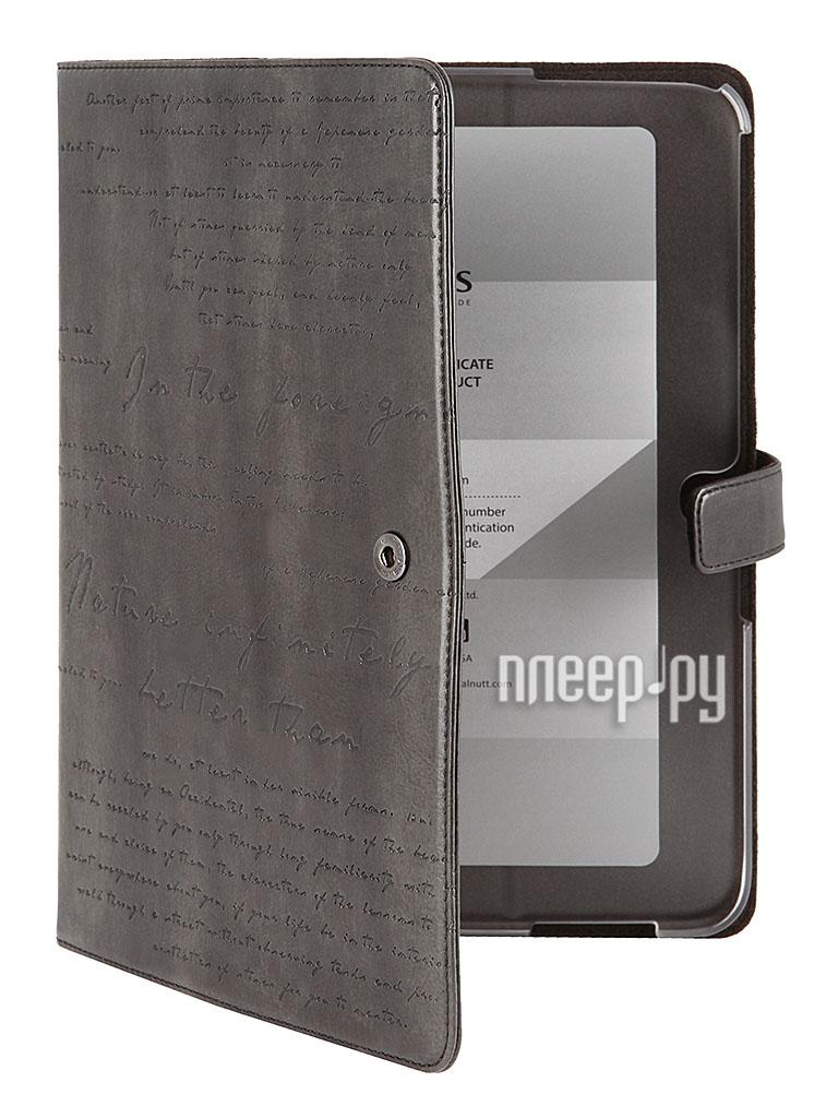 Аксессуар Чехол Samsung GT-P5200/P5210 Galaxy Tab 3 10.1 Zenus Masstige Lettering Diary Dark Gray  Pleer.ru  899.000