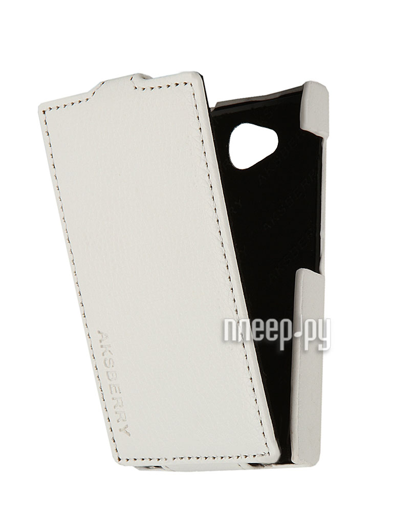 Аксессуар Чехол Nokia Asha 503 Aksberry White  Pleer.ru  1129.000