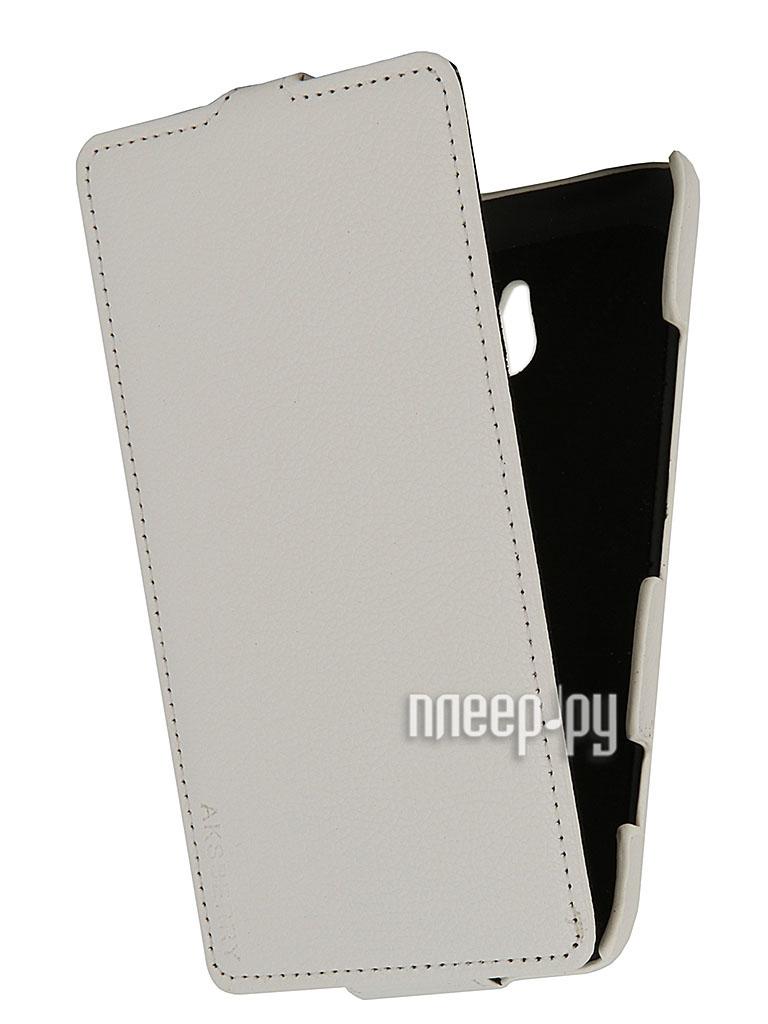 Аксессуар Чехол Nokia Lumia 1320 Aksberry White  Pleer.ru  1149.000