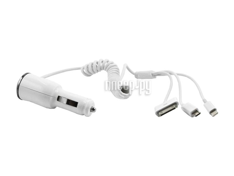 Аксессуар Liberty Project 4 в 1 2100 mA 8 pin/30 pin/Samsung Tab/micro USB SM001391  Pleer.ru  700.000