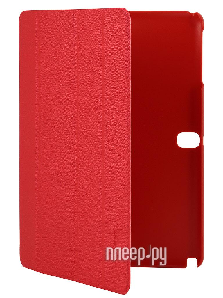 Аксессуар Чехол Samsung Galaxy Note 10.1 Sumdex SN-104 RD  Pleer.ru  445.000