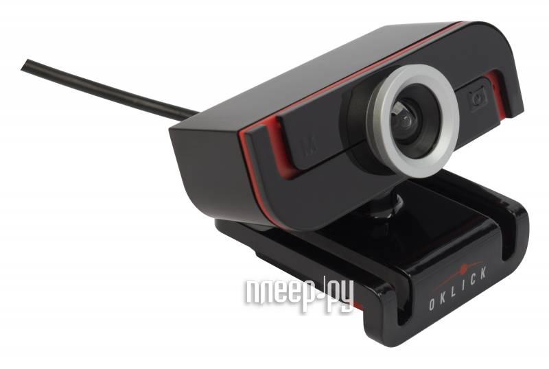 Вебкамера Oklick HD-140M  Pleer.ru  621.000