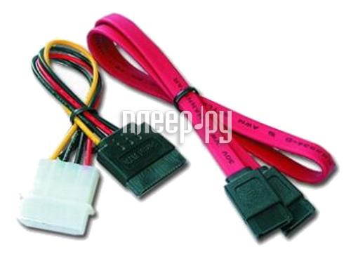 Аксессуар Greenconnect SATA 7pin/7pin 0.5m GC-ST101+ST201  Pleer.ru  130.000